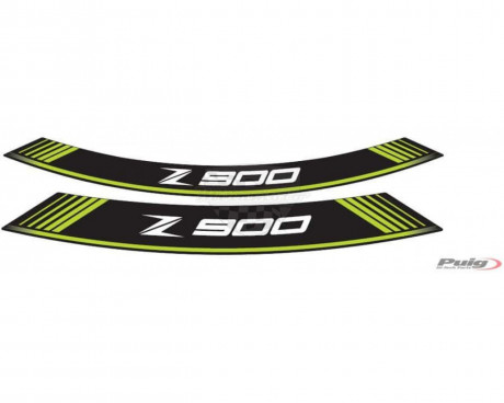 Rim strip Z900 9291V zelená set of 8 rim strips