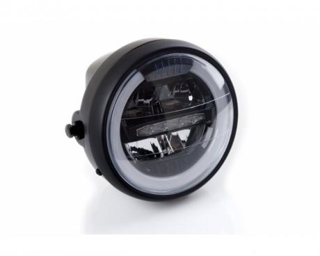 Maska se světlem PUIG LED 1944N černý