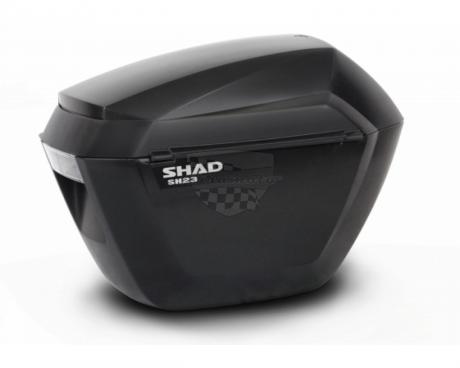 Boční kufry na motorku SH23 černý