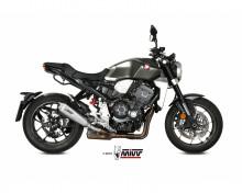 Koncovka výfuku MIVV DELTA RACE H.068.LDRX Nerez / Karbonové víčko Honda CB 1000 R Neo Sports Cafe 18-