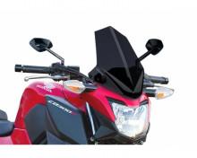 Windshield NEW. GEN SPORT Puig 7655F dark smoke Honda CB 300 F 15-17