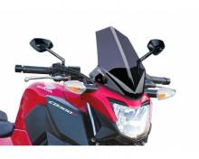 Windshield NEW. GEN SPORT Puig 7655H smoke Honda CB 300 F 15-17