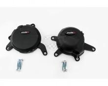 Ochranné kryty motoru PUIG 20140N černý zahrnuje pravý a levý kryt KTM 390 Duke , RC 390 15-16