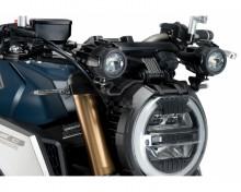 Adaptéry pro přídavná světla PUIG 3529N černý set Honda CB 650 R 19-20