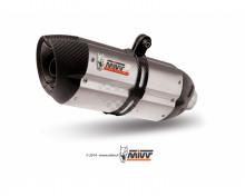 Koncovka výfuku SUONO H.065.L7 Stainless Steel / Carbon cap