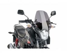 Windshield NEW. GEN SPORT Puig 7726H smoke Honda CBF 125 F 15-17