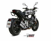 2 koncovky výfuku MIVV MK3 H.069.LM3X Nerez Honda CB 1000 R Neo Sports Cafe 18-