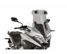 Windscreen TOURING WITH VISOR Puig 9445H smoke Honda VFR 800 Crossrunner 17-19