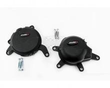 Ochranné kryty motoru PUIG 20141N černý zahrnuje pravý a levý kryt KTM 390 Duke , RC 390 17-19