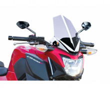 Windshield NEW. GEN SPORT Puig 7655W průhledný Honda CB 300 F 15-17