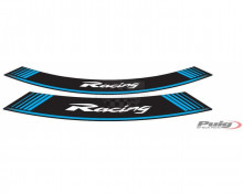 Rim strip RACING Puig 5531A modrá set of 8 rim strips Racing modrá
