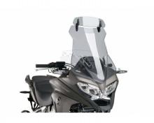 Windscreen TOURING WITH VISOR Puig 7627H smoke Honda VFR 800 Crossrunner 15-17