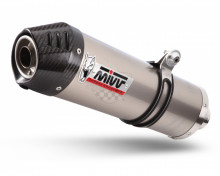 Koncovka výfuku MIVV OVAL S.049.LNC Titanium / Carbon cap