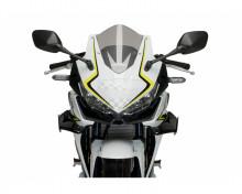Boční spoilery PUIG DOWNFORCE 3614N černý Honda CB 500 R 19-20