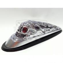 Soška na blatník -lebka Drag Specialties DS 287533