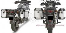 PL532CAM nosič Suzuki DL 650 V-Strom (04-11) pro hliníkové boční kufry Givi PL 532