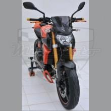 Ermax plexi Yamaha MT-09 14-15 Noir Clair 25cm