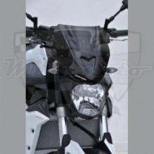 Ermax plexi Yamaha MT-07 14-15 Noir Clair 27cm