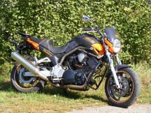 Padací rám RD Moto CF15KD Yamaha BT 1100 Bulldog 02-06 černý CF 15