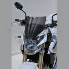 Ermax plexi Suzuki GSR 750 11-15 Noir Clair 26cm