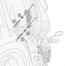 1173KIT sada pro montáž TE1173 bez 1173 FZ pro Honda CB 650 R (19-20)