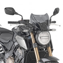 1173S plexi kouřové Honda CB 650 R (19-20), vxš  220x310 mm, použij montážní sadu A 1173A