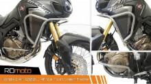 Padací rám RD Moto CF54S Honda CRF 1000 Afrika Twin stříbrný vrchní