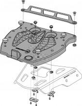 Plotna SW Motech na kufry Kappa/Givi GPT.00.152.406 Monolock