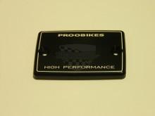 Víčko nádobky Proobikes PBOK0212BL Kawasaki černá