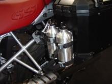 Hliníkové láhve 2x06 L včetně držáku SW Motech ALK.165.30800/S