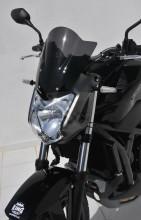 Ermax plexi Honda NC 750 S 14-15 Noir Clair 030103142