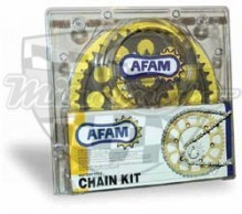 Řetězová sada AFAM Kawasaki KLR 650 96-02