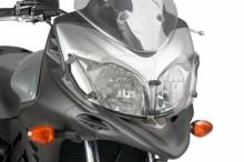 Ochranný kryt předního světla Puig 8125W Suzuki DL 650 Strom 12-16