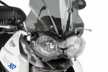 Ochranný kryt předního světla Puig 8124W Triumph Tiger 800 11-15