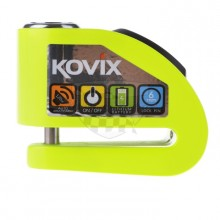 Zámek na moto s alarmem Kovix KD6 FG reflexní