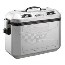 DLM 36APACK2 pravý + levý kufr GIVI Dolomiti 36 Trekker hliníkový (Monokey boční), objem 2x36 ltr