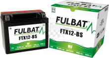 Moto baterie Fulbat YTX12-BS