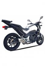 Výfuk IXRACE Z7 Honda NC 700/750 X/S 12-17  QH 6362 nerez