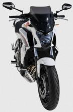 Ermax plexi Honda CB 650 Hornet 14-16 Noir Clair