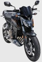 Ermax plexi Honda CB 650 Hornet 17-18 Noir Clair