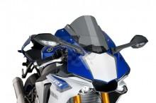 Plexi Puig Racing Yamaha R1 15-17 7648H