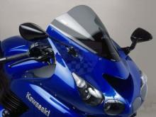 Plexi Puig Racing Kawasaki ZZR 1400 06-16 4057H