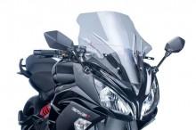 Plexi Puig Racing Kawasaki ER-6F 12-16 5998H