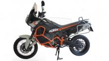 Padací rám RD Moto CF86O Oranžový KTM 990 Adventure