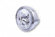 Přední hlavní světlo 223-238 LED Chrom
