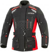 Bunda textilní dámská Büse HIGHLAND 3-IN-1 40/L černá / červená