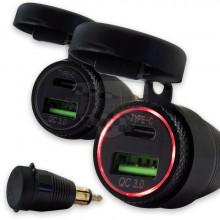 Zástrčka 12V USB 349039 na BMW, Triumph