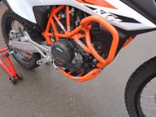 Padací rám RD Moto CF124O Oranžový KTM 690 Enduro 08-18,Husqvarna 701 Enduro/Supermoto