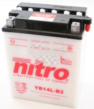 Moto baterie Nitro YB14L-B2