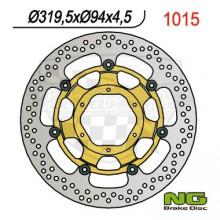 Brzdový kotouč NG 210.1015 přední levý/pravý